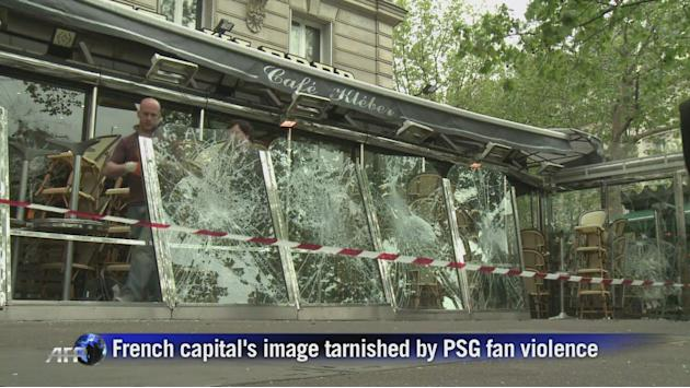 Paris image tarnished by PSG fan violence