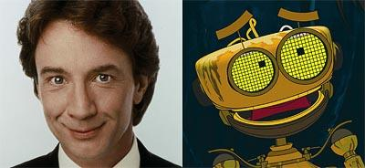 Martin Short is the voice of B.E.N. in Disney's Treasure Planet