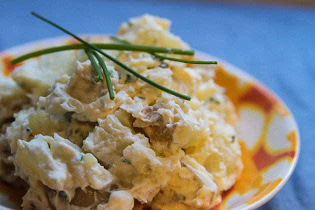 Kati Auld's best damn potato salad, National Braai Day
