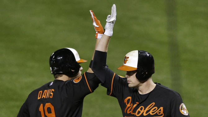 Davis hits No. 48 as Orioles beat White Sox 4-0