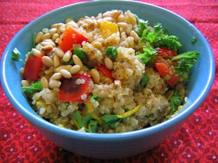 Summer quinoa salad recipe (vegan and vegetarian recipes for the fourth of july)