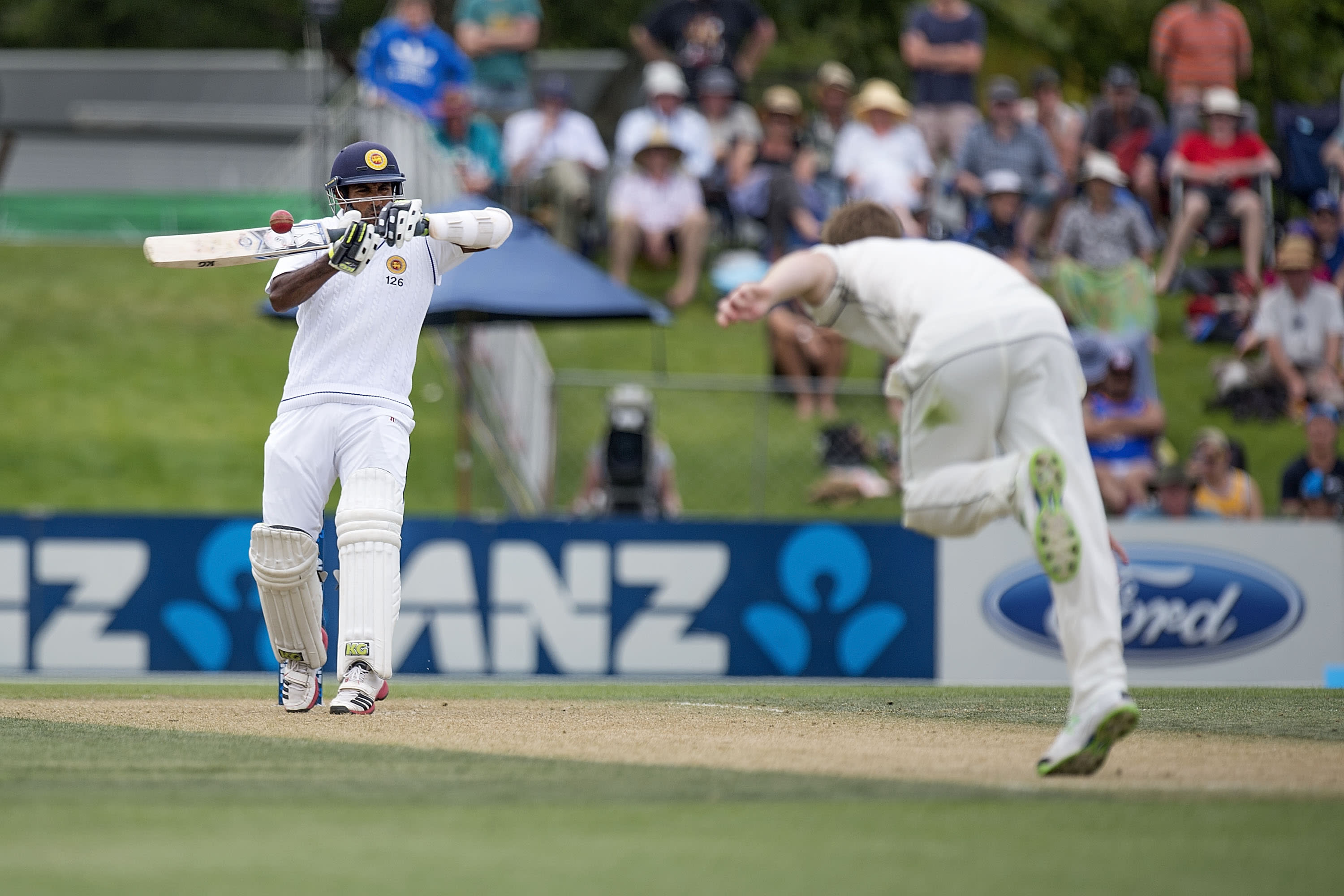 Sri Lanka in fight to survive against New Zealand