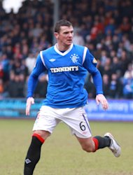 Lee McCulloch scored Rangers' winner in the 2-1 victory over Brechin