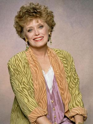 Rue McClanahan 'The Golden Girls' on Lifetime Golden Girls