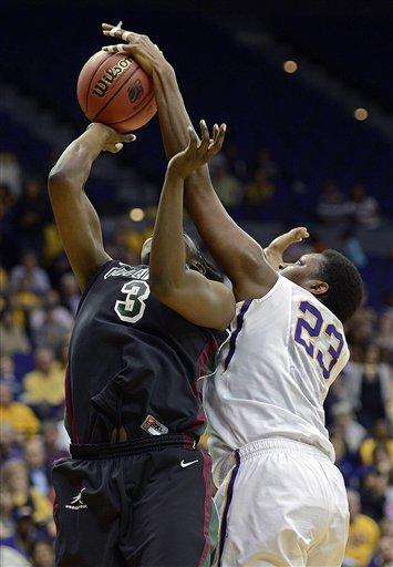 LSU holds off Green Bay, 75-71