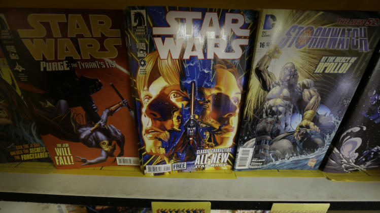 Dark Horse, Wood start new 'Star Wars' comic