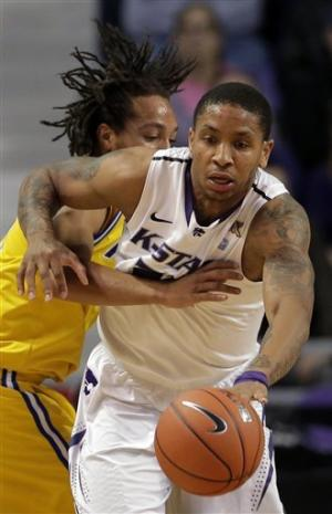 No. 25 K-State struggles to put away UMKC, 52-44
