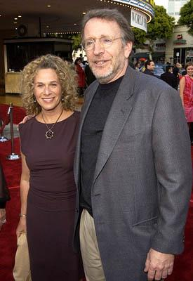 Carole King and Phil Alden Robinson at the LA premiere of Paramount's The Sum of All Fears