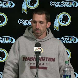 Washington Redskins offensive coordinator Kyle Shanahan on future