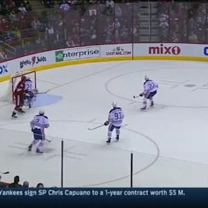 Ben Scrivens Save on Keith Yandle (13:06/2nd)