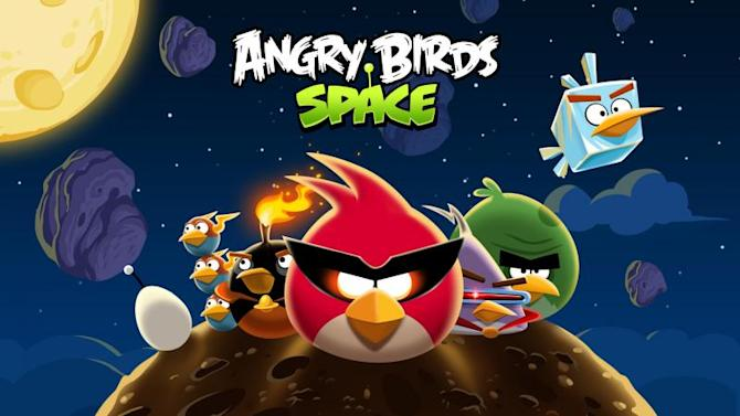 Art for 'Angry Birds Space'