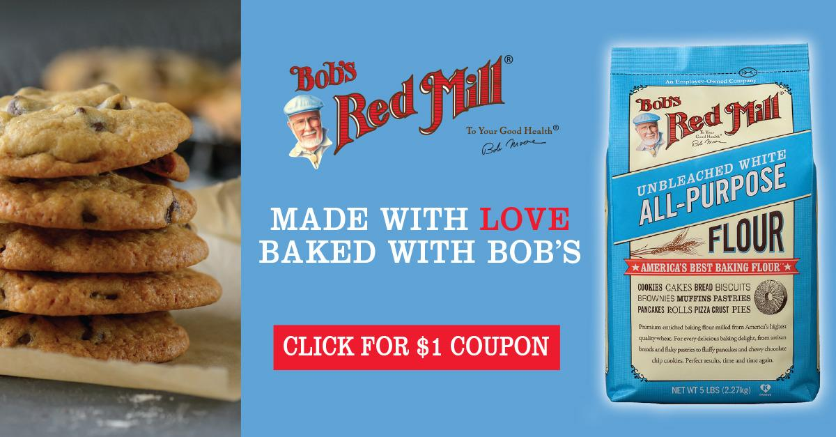 Bob's Red Mill - Wholesome Baking Flours