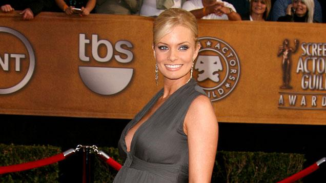 Jaime Pressly at the 13th Annual Screen Actors Guild Awards.