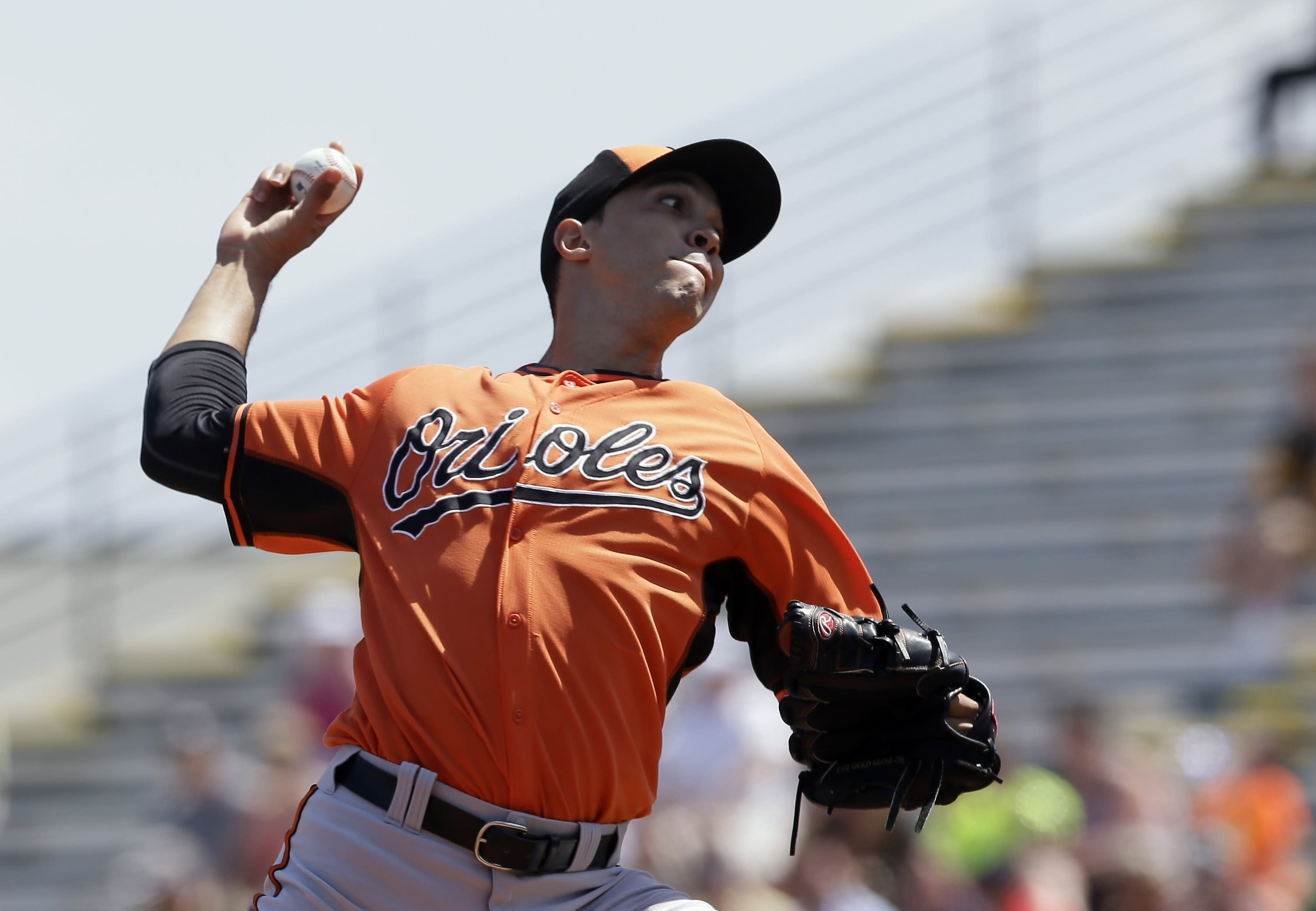 Orioles rely on pitching in bid to repeat as AL East champs