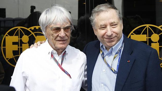 Bernie Ecclestone and Jean Todt (Reuters)