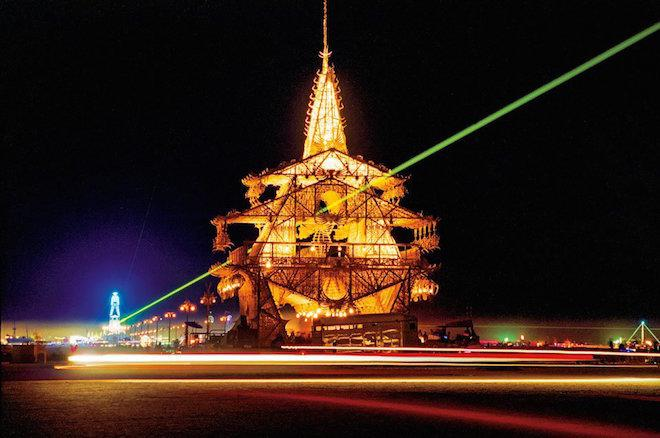 Curbed National: One Photographer's Look at Burning Man's Incredible Pop-Up Architecture