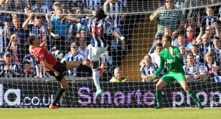 Soccer - Barclays Premier League - West Bromwich Albion v Manchester United - The Hawthorns