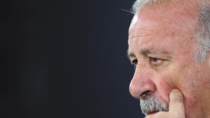 Del Bosque puzzled over Spain's World Cup exit