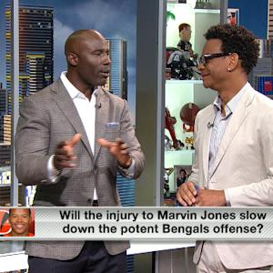 Will Marvin Jones' injury slow down Cincinnati Bengals' offense?