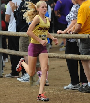Sarah Baxter crushed the previous course record at the Mt. Sac Invitational &#x002014; Runnerspace