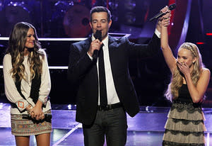 Caroline Glaser, Carson Daly, Danielle Bradbery | Photo Credits: Trae Patton/NBC