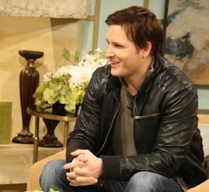 Peter Facinelli stops by Access Hollywood Live on February 25, 2011 -- Access Hollywood