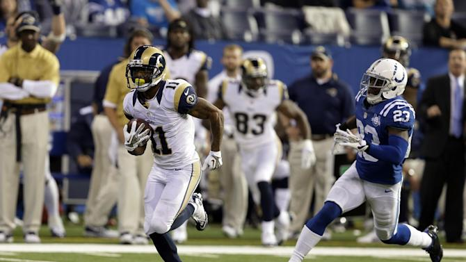 Austin takes big step as Rams blow out Colts 38-8