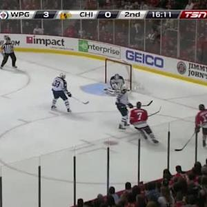 Michael Hutchinson Save on Brent Seabrook (03:51/2nd)