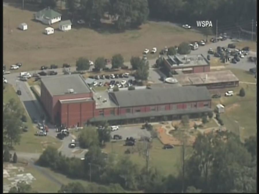 Suspect caught in shooting of teacher, two kids at South Carolina school