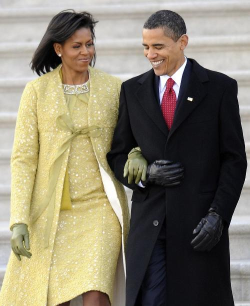 Michelle Obama's morning dress