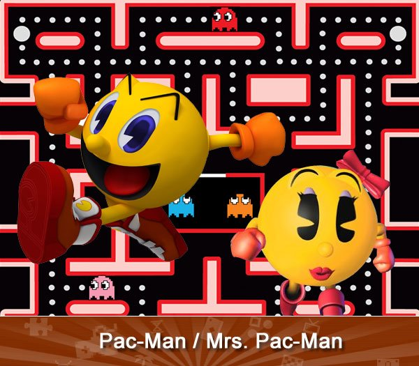 Pac-Man/ Ms. Pac-Man