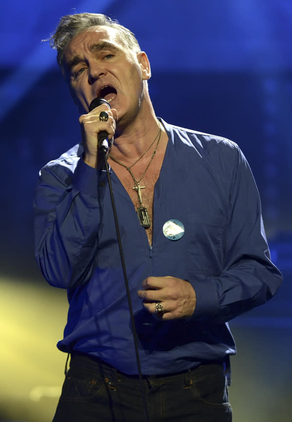 Morrissey Cancels Remaining Tour Dates