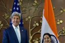 Kerry in India for strategic, commercial talks