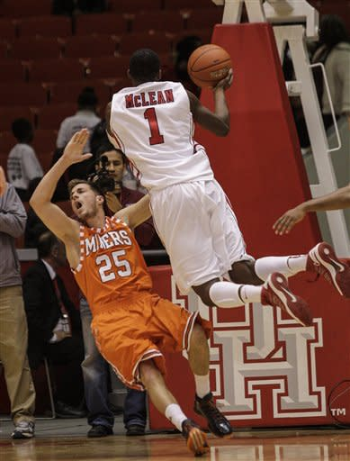 UTEP Houston Basketball