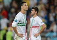 Portugal's Cristiano Ronaldo reacts after losing the Euro 2012 semi-final against Spain on June 27. Portugal should be proud of their performance at Euro 2012, even if their campaign ended in the crushing defeat in a penalty shootout in the semi-finals to holders Spain, Ronaldo insisted