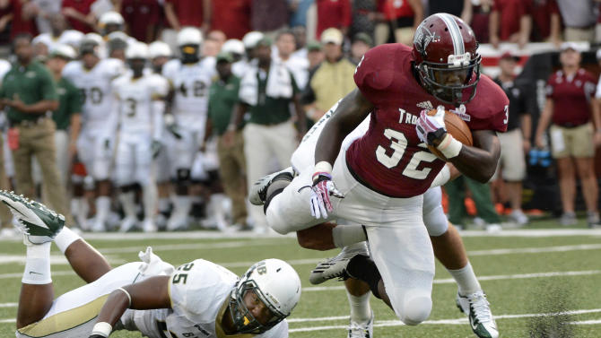 Scott's overtime FG lifts Troy over UAB 34-31