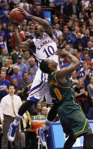 T-Rob, Taylor lead No. 7 Kansas over No. 3 Baylor