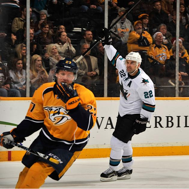 San Jose Sharks v Nashville Predators