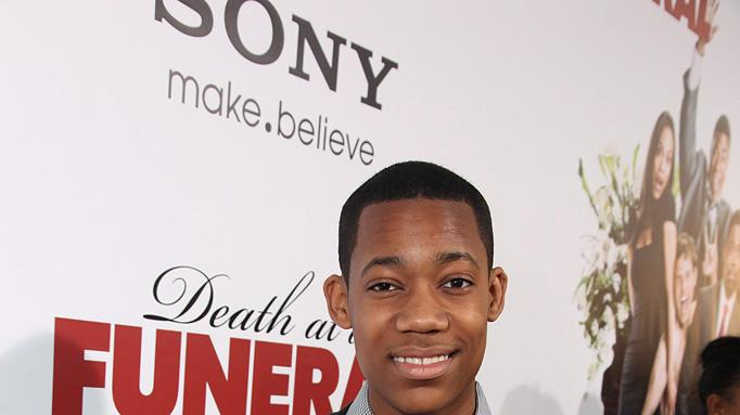 Death at a Funeral 2010 LA Premiere Tyler James Williams