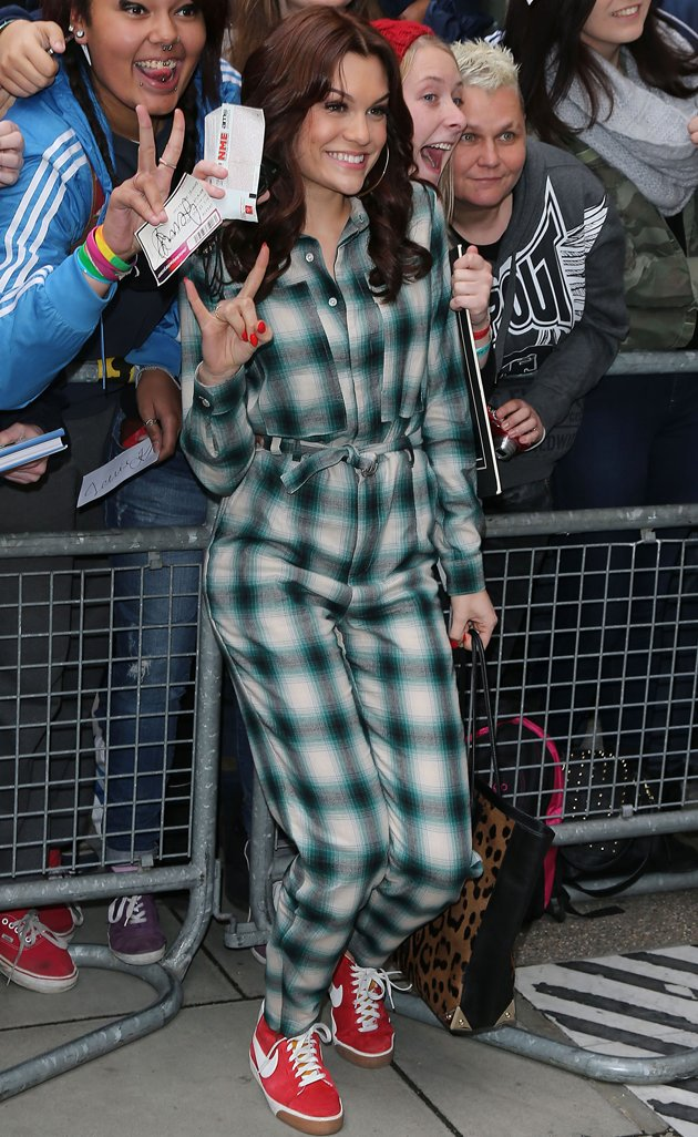 Jessie J, fashion, pyjamas