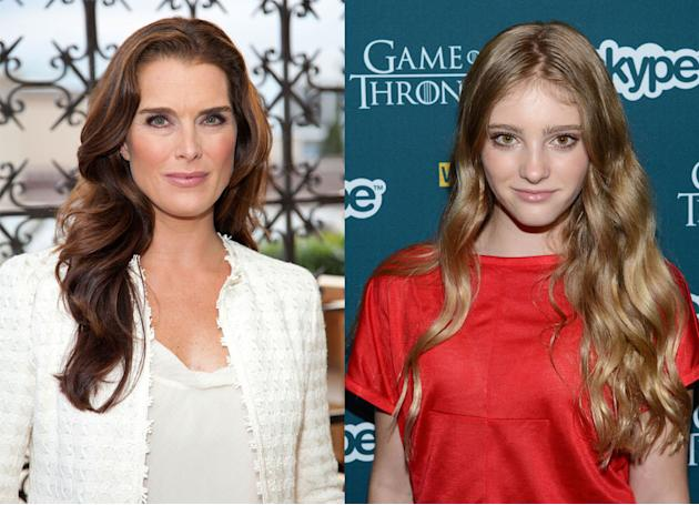 Brooke Shields and Willow Shields