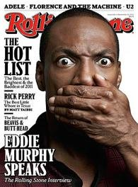 Eddie Murphy on the cover of Rolling Stone