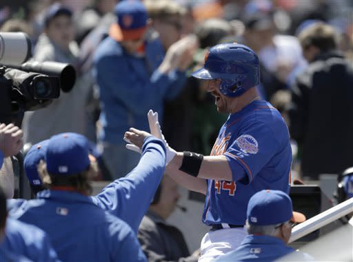 Buck's 7th homer leads Mets over Nationals 2-0