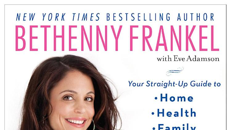 "This book cover image released by Touchstone shows ""Skinnygirl Solutions: Your Straight-Up Guide to Home, Health, Family, Career, Style, and Sex,"" by Bethenny Frankel. (AP Photo/Touchstone)"