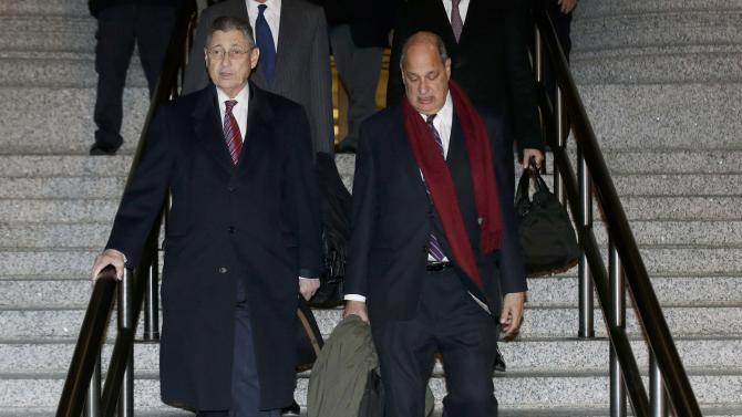 Sheldon Silver, formerly speaker of the state Assembly for New York, leaves a courthouse in New York