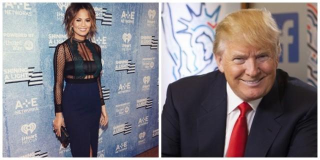 Chrissy Teigen Shut Donald Trump Down With One Tweet