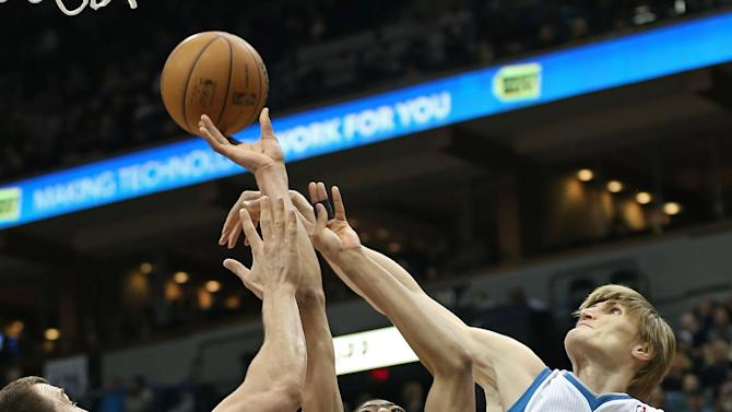 NBA: New Orleans Hornets at Minnesota Timberwolves