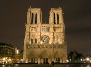 Notre Dame Cathedral, Paris (Sathish Jothikumar)