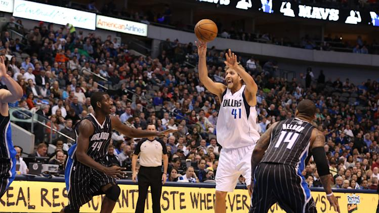 NBA: Orlando Magic at Dallas Mavericks