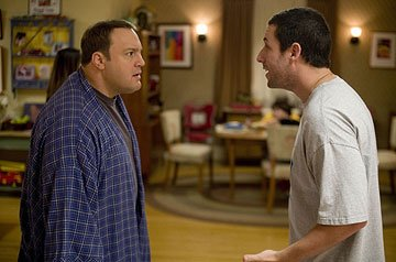 Kevin James and Adam Sandler in Universal Pictures' I Now Pronounce You Chuck &amp; Larry